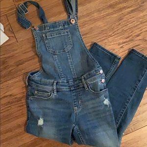 Abercrombie girls overalls